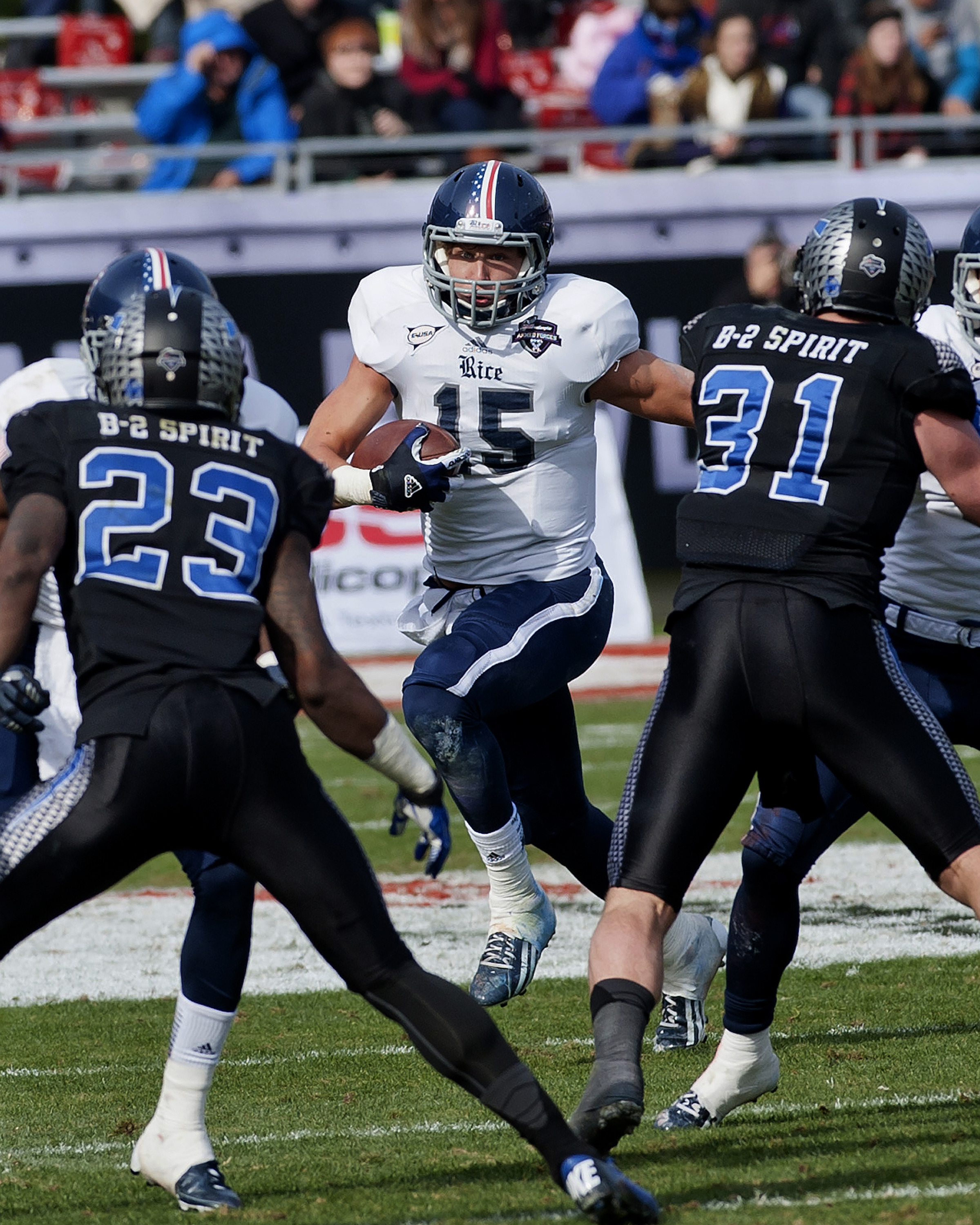Taylor Named to Armed Forces Bowl Anniversary Team - Rice University ... d3e4ecca4