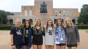 Six Signees in the Quad 2