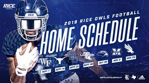 2019 Home Football Schedule